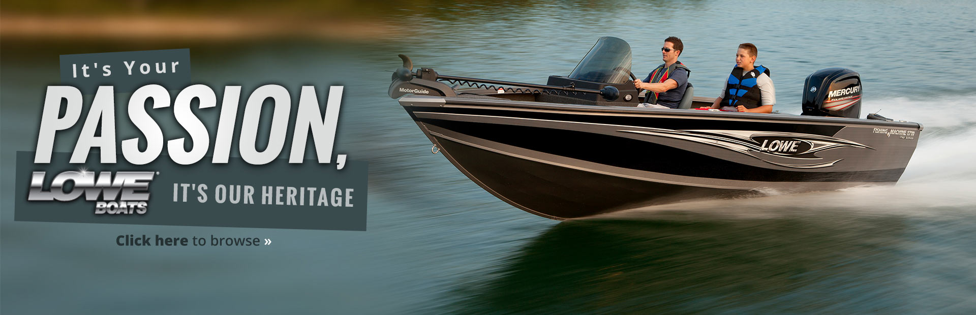 Lowe Boats: Click here to view the models.