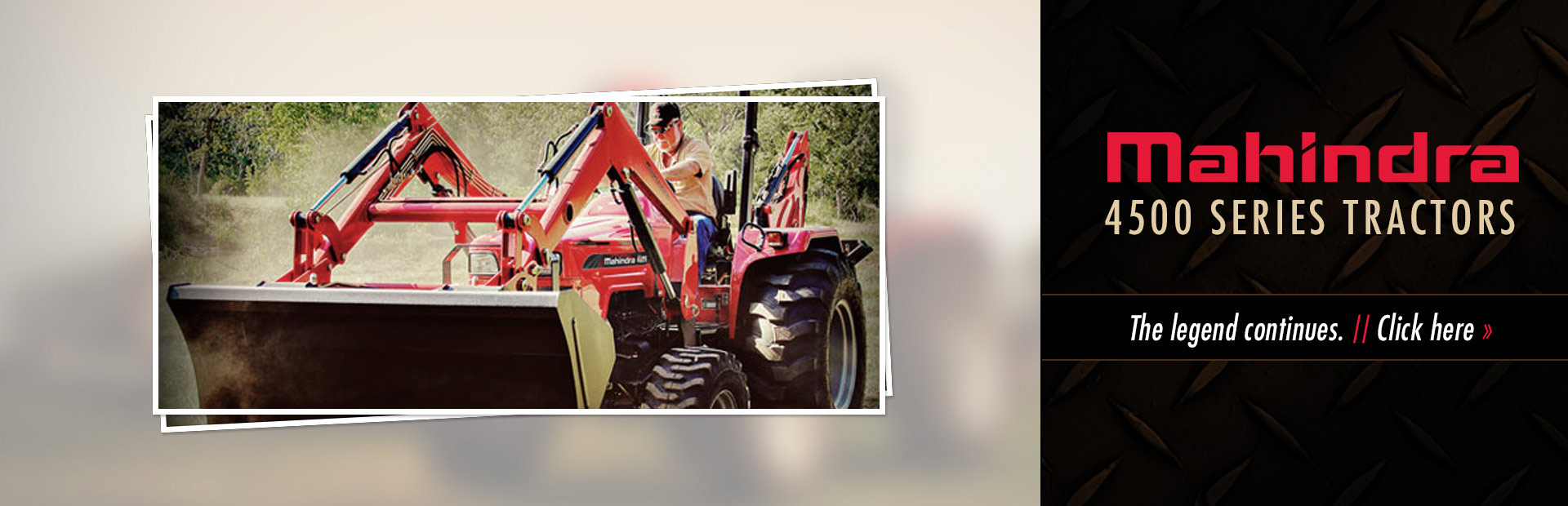 Click here to view our selection of Mahindra 4500 series tractors!