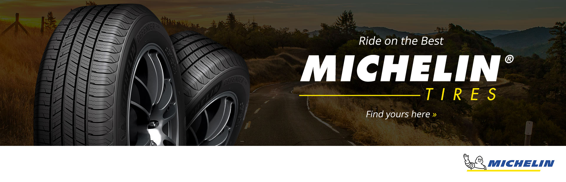 Michelin® Tires: Click here to browse.