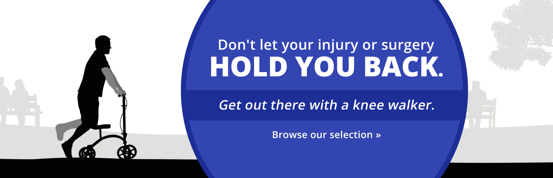 Browse our selection of knee walkers.