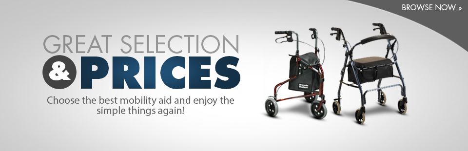 Click here to browse mobility aids.
