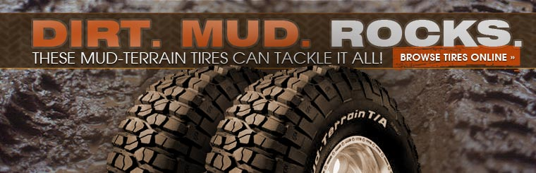 Click here to browse mud-terrain tires online.