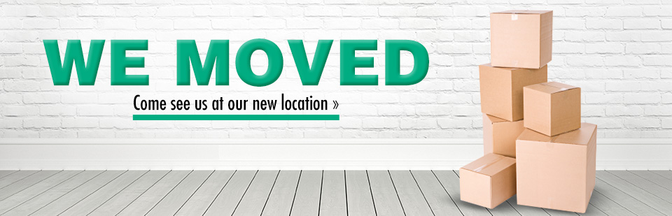 We moved! Come see us at our new location.
