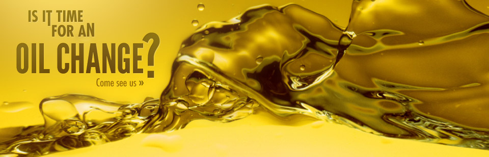 We offer oil changes. Click here for details.