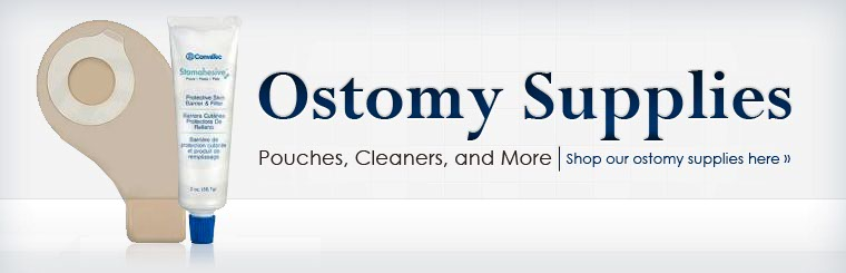 Click here to browse ostomy supplies.