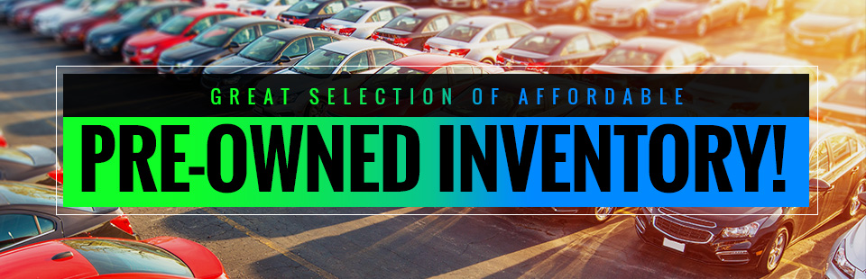 Affordable Pre-Owned Inventory