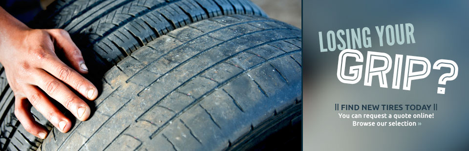 browse for tires and submit a quote request online