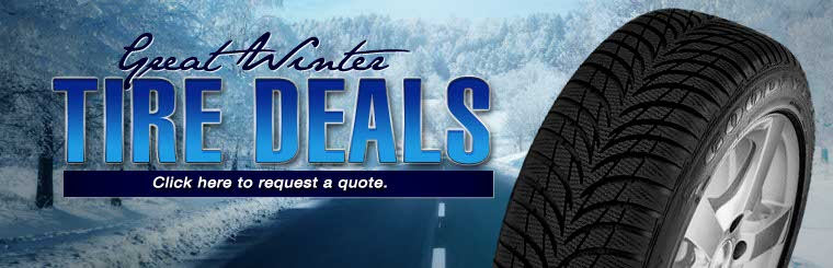Great Winter Tire Deals: Click here to request a quote!