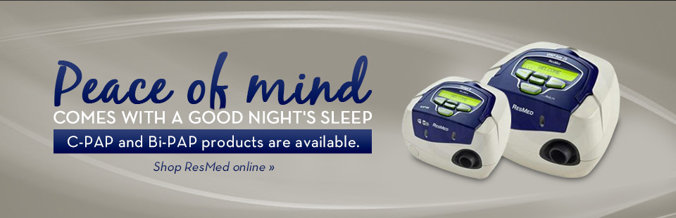 Click here to shop for ResMed CPAP and BiPAP products.