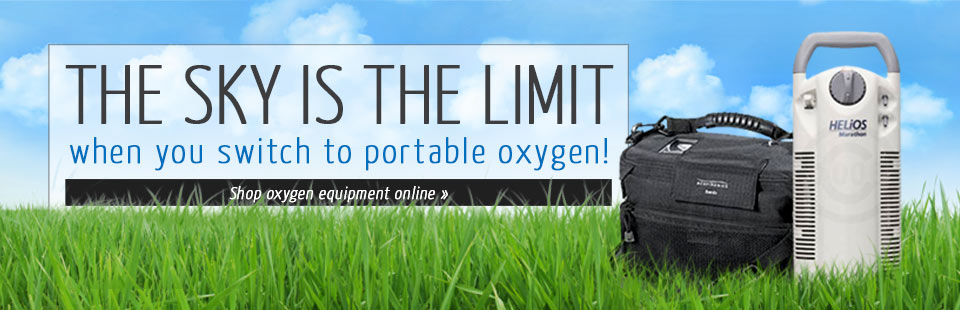 Click here to shop for portable oxygen equipment.