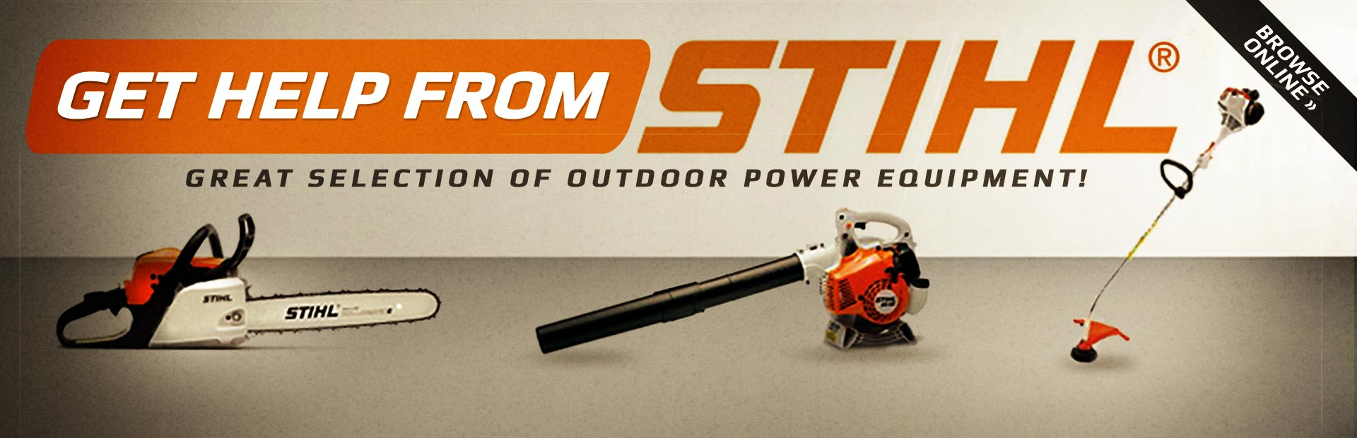 Triole Small Engine Sales Service Ottawa On 613 748 3991 Briggs Stratton Diagram Chainsaw Click Here To Browse Stihl Outdoor Power Equipment