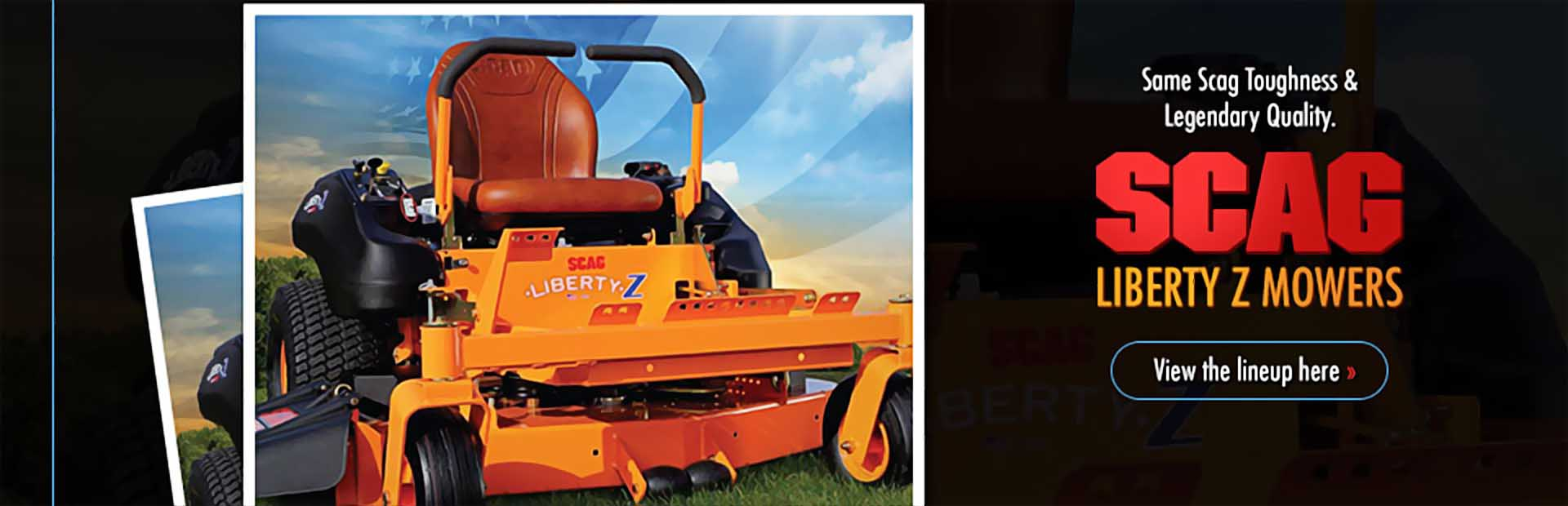 Scag Liberty Z Mowers: Click here to view our selection!