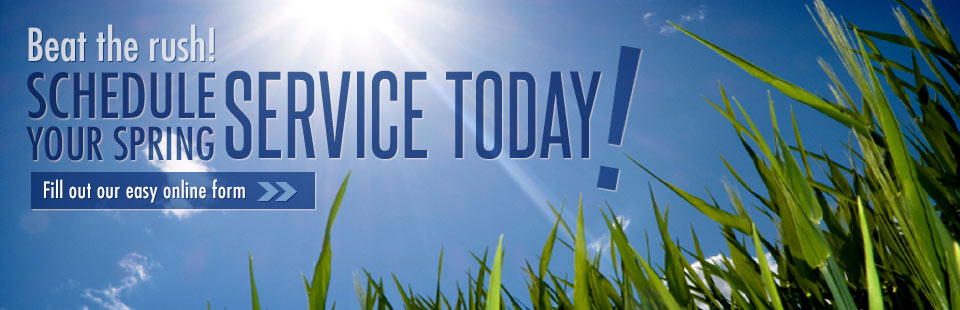 Schedule your spring service today!
