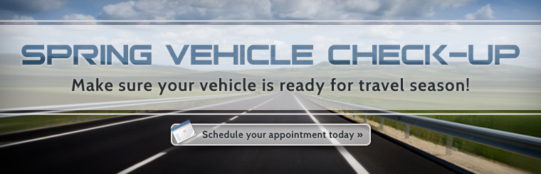 Spring Vehicle Check-Up: Contact Junction Tire Service today to schedule your appointment.