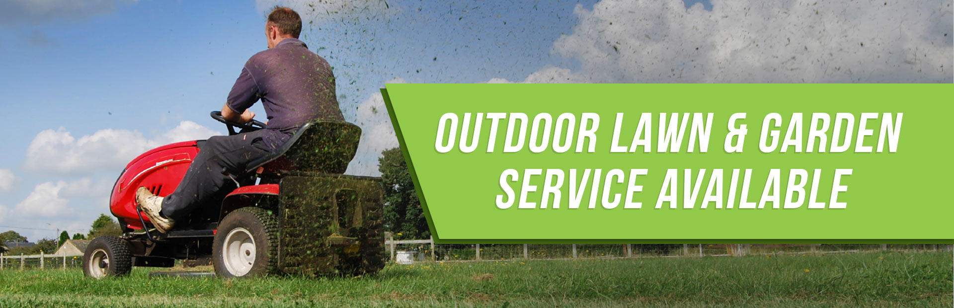 Awesome Outdoor Lawn And Garden Is Service Available!