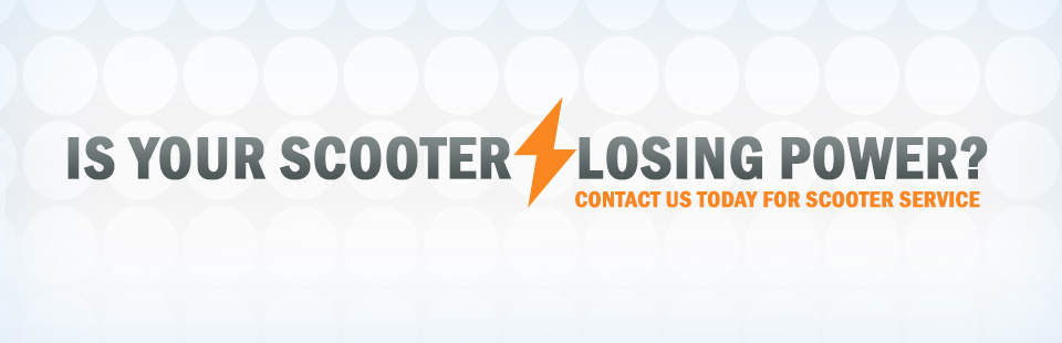 Is your scooter losing power? Click here to contact us today for scooter service!