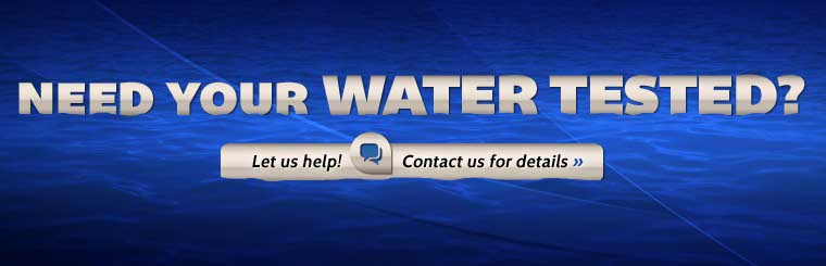 We offer water testing services. Click here to contact us for details.