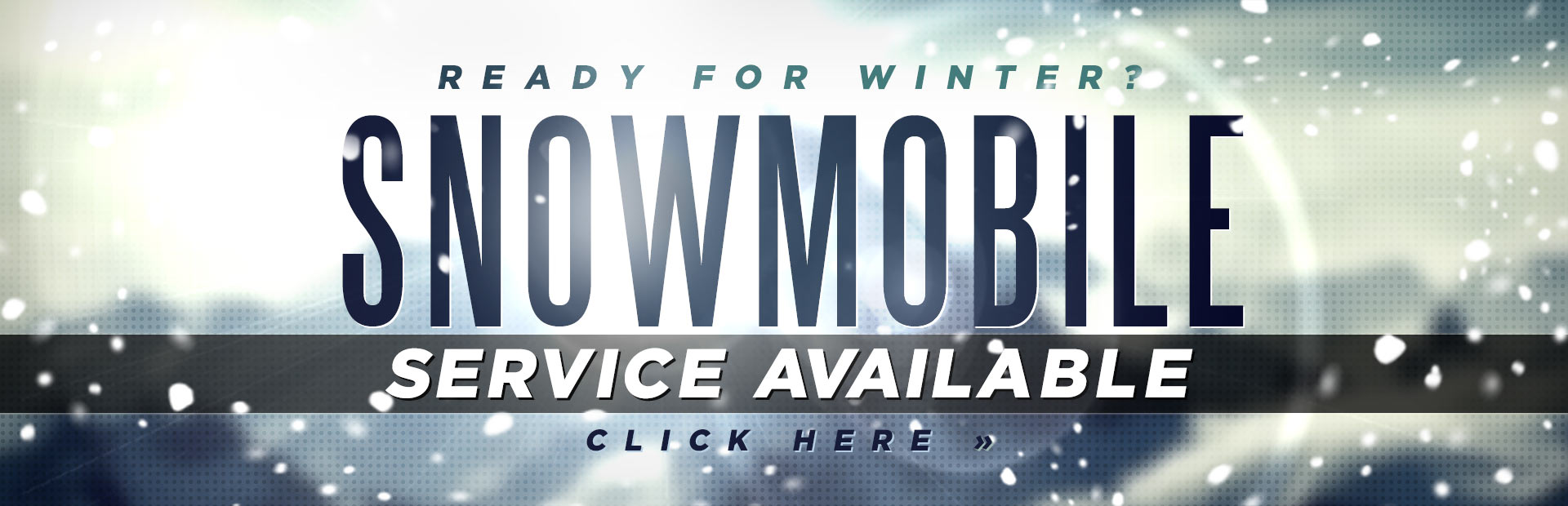 Snowmobile Service Available: Click here for details.