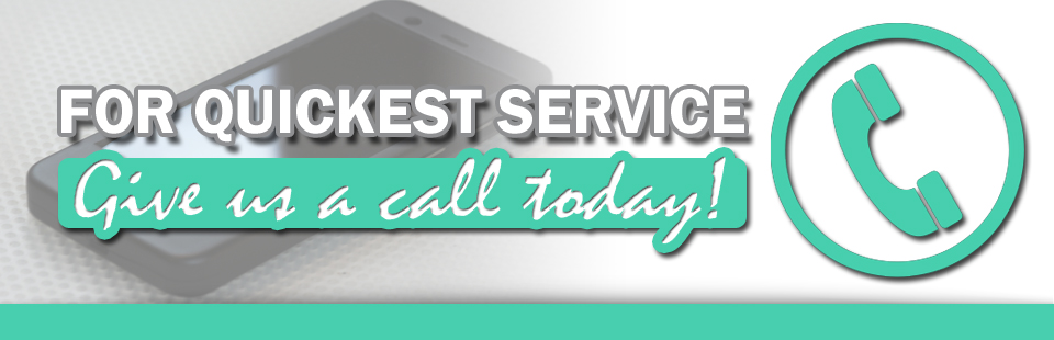 Call Us for Service
