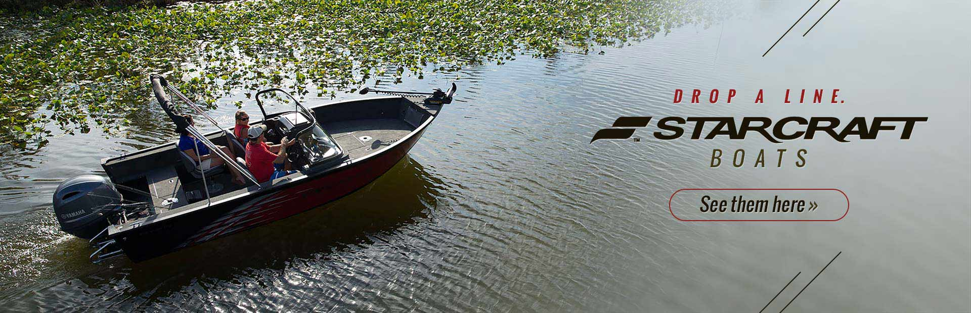 Starcraft Boats: Click here to view the models.