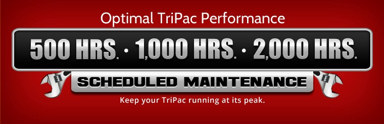 TriPac Scheduled Maintenance: Contact us for details.