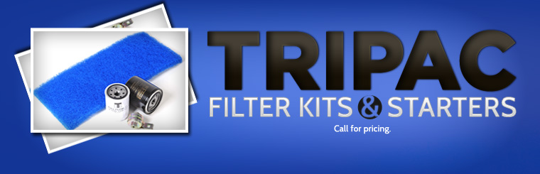 TriPac Fuel Kits and Starters: Call for pricing.