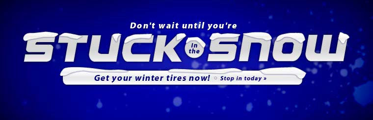Get your winter tires now! Click here to contact us.