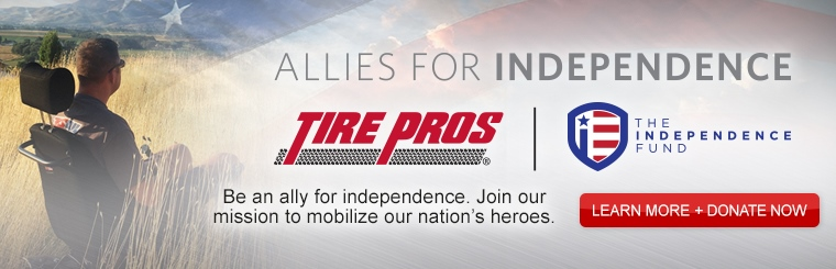 Tire Pros Allies for Independence: Contact us for details.