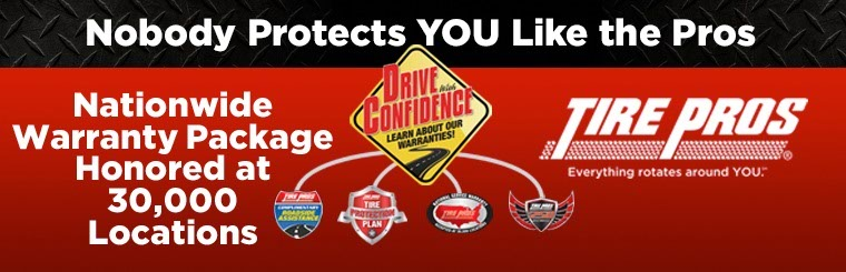 Nationwide Warranty Package from Tire Pros: Click here for details.