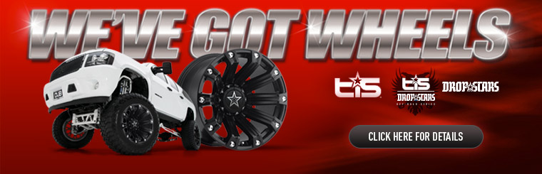 Click here to see the wheels we carry.