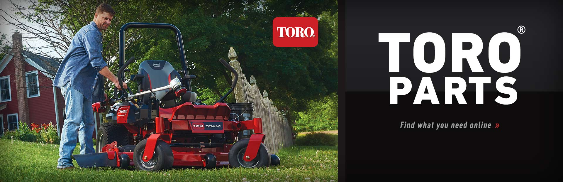 Toro Parts: Click here to find what you need online.