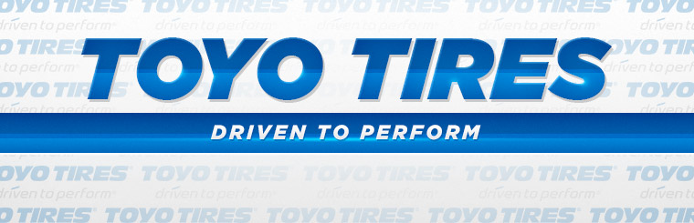 We carry Toyo tires!