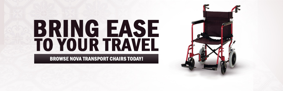 Bring ease to your travel! Click here to browse Nova transport chairs.
