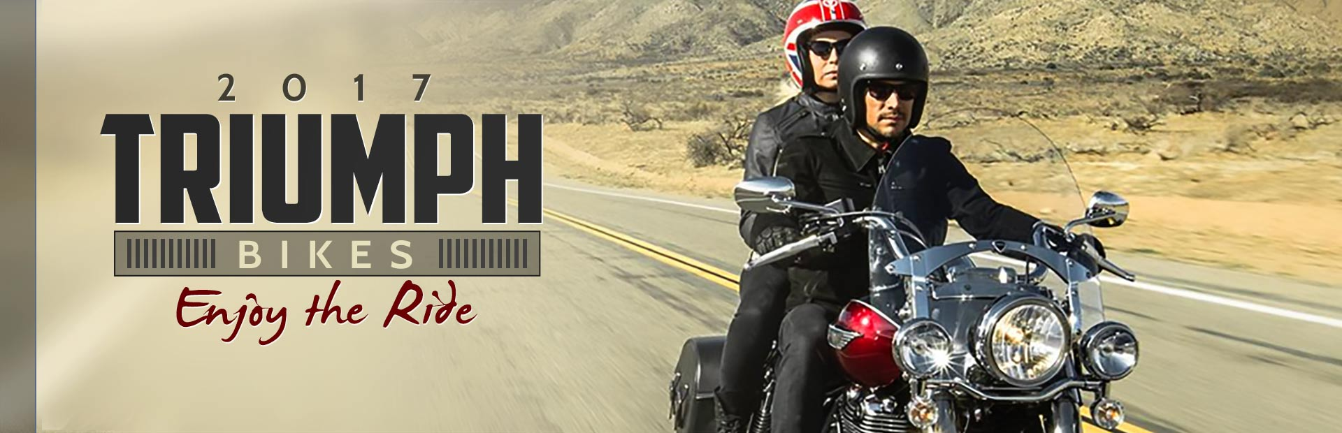 2017 Triumph Bikes: Click here to view the models.