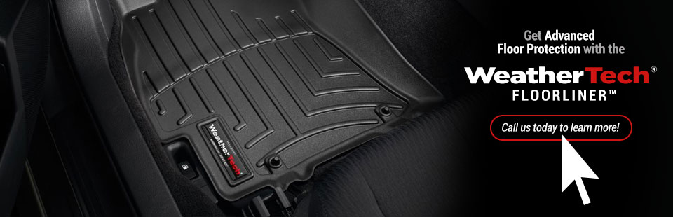 WeatherTech® FloorLiner™: Call us today to learn more!