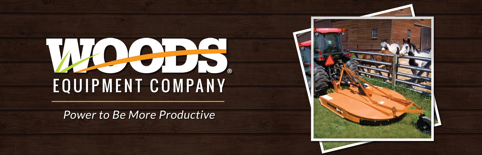 Woods Equipment Company: Click here to view the models.