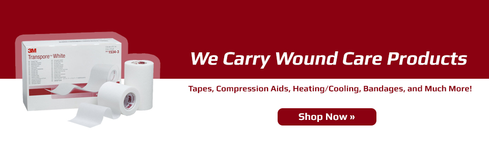We carry wound care products!