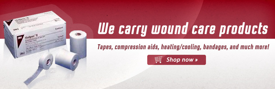 Click here to browse wound care products.