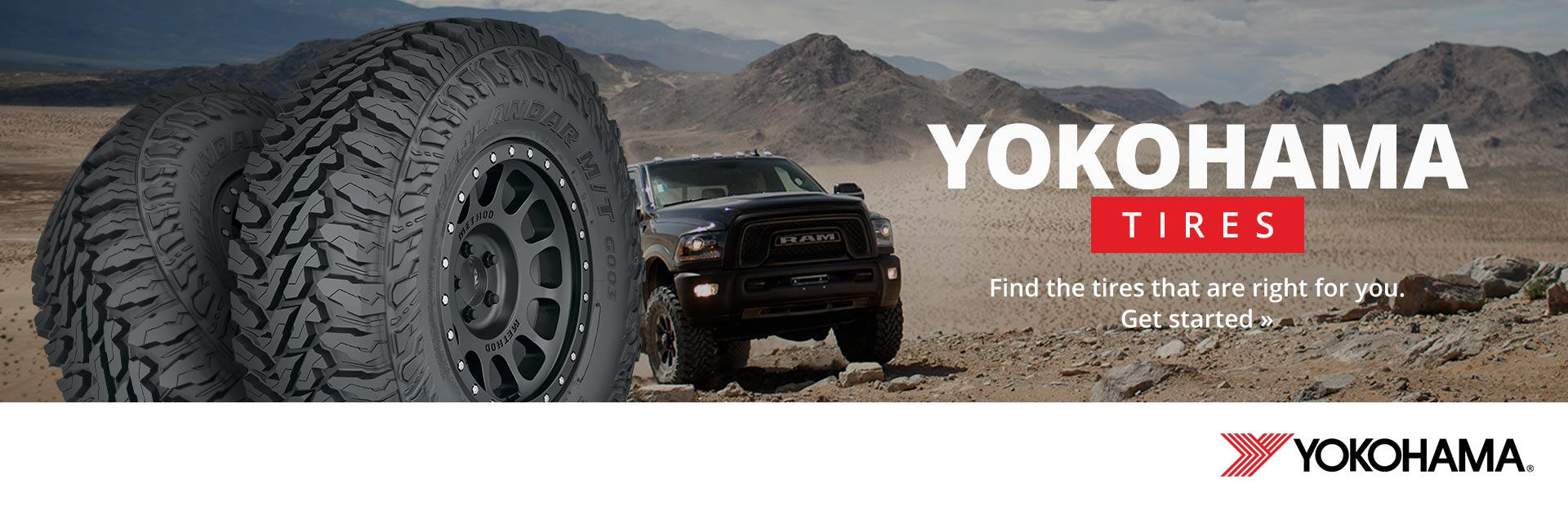 Yokohama Tires: Click here to find the tires right for you.