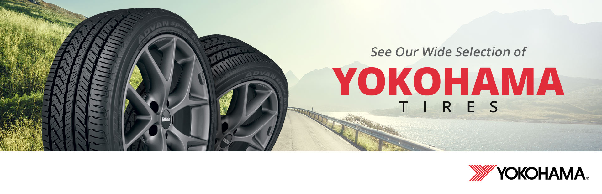 See our wide selection of Yokohama tires!