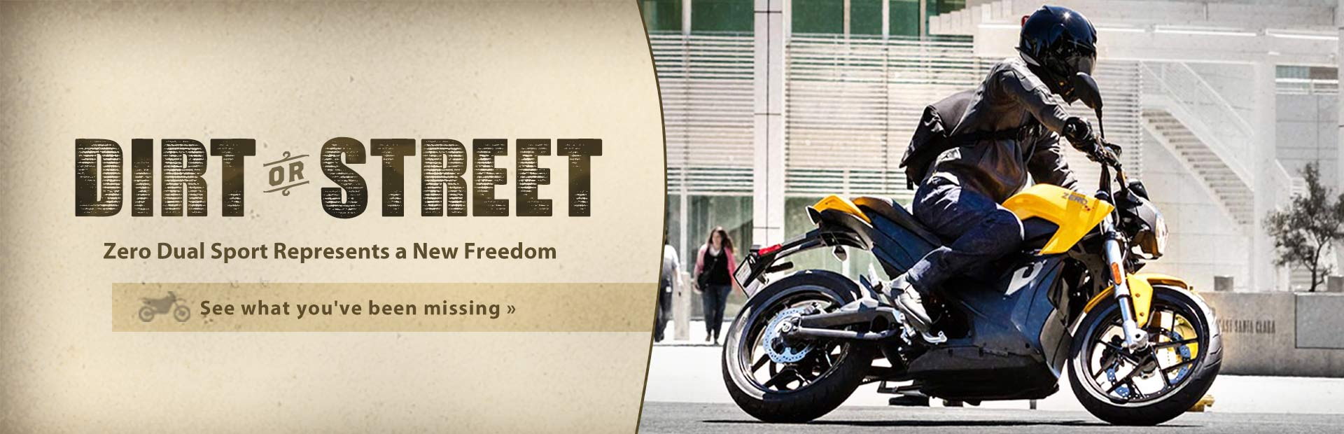 Click here to view bikes from Zero Motorcycles.