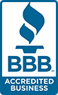 We are a Better Business Bureau accredited business!