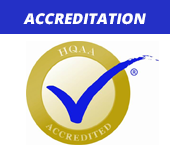 We are accredited by HQAA.
