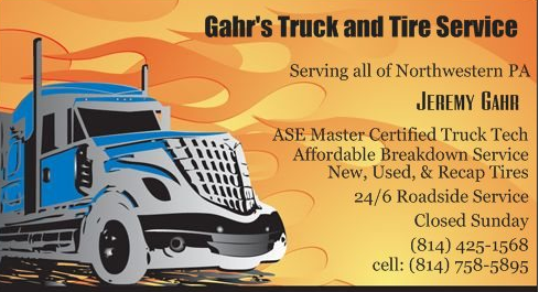 Gahr Truck and Tire Service