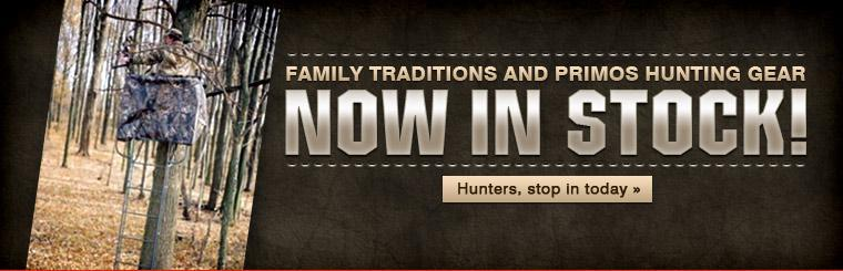 Family Traditions and Primos Hunting Gear