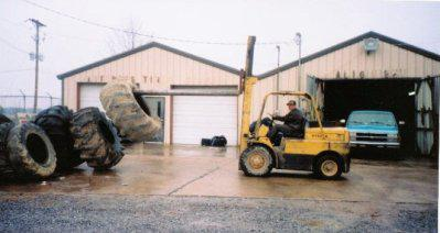 Picking Up Commercial Tires
