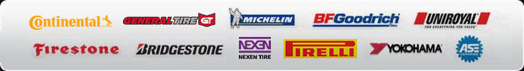 We proudly carry products from Continental, General, Michelin®, BFGoodrich®, Uniroyal®, Firestone, Bridgestone, Nexen, Pirelli, and Yokohama. Our technicians are ASE certified.